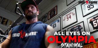 Stanimal Gold's Gym Training 7 Days Olympia 2018 Generation Iron