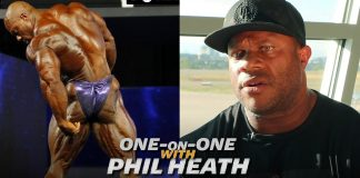 Phil Heath Exclusive Interview Olympia 2018 Generation Iron