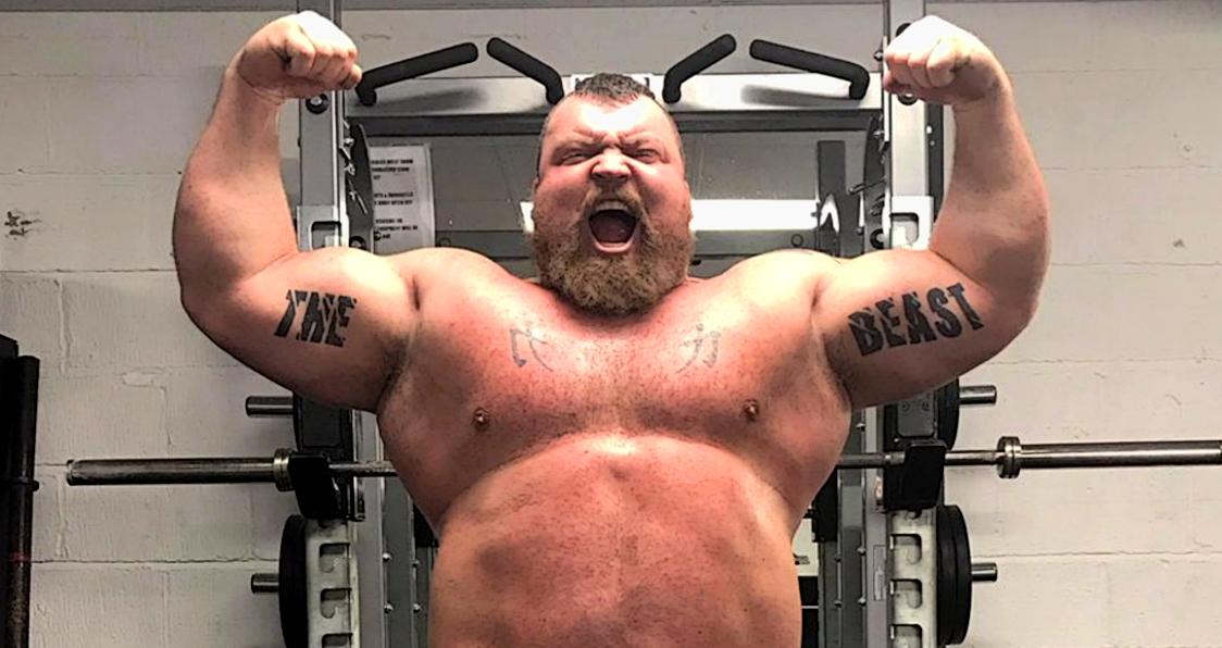 Insane Transformation Former World S Strongest Man Eddie Hall Is