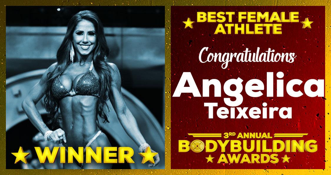 2018 Generation Iron Bodybuilding Awards Anjelica Teixeira Best Female Athlete