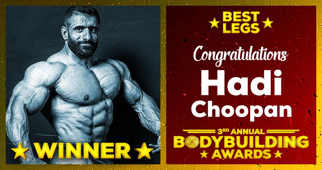 2018 Generation Iron Bodybuilding Awards Hadi Choopan Best Legs