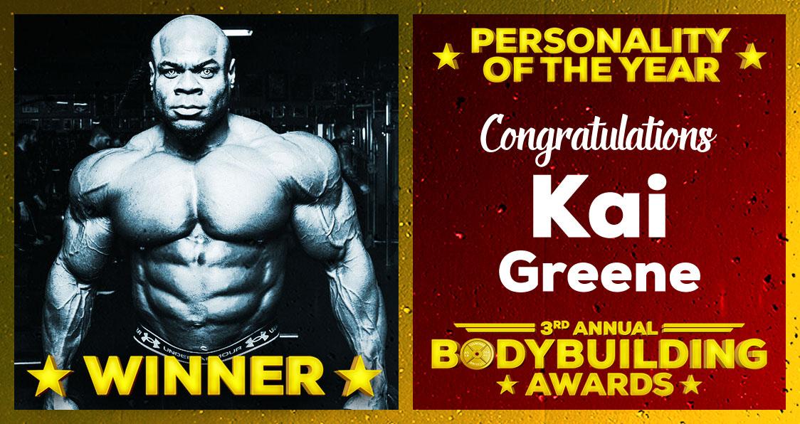 2018 Generation Iron Bodybuilding Awards Kai Greene Personality Of The Year