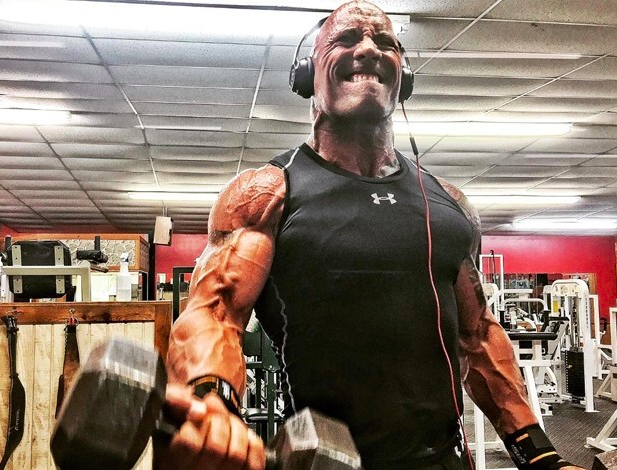 """Dwayne """"The Rock"""" Johnson Photos Which Will Motivate You to Hit the Gym"""