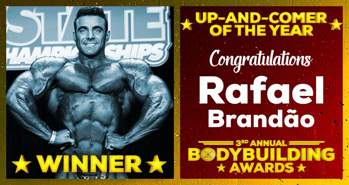 2018 Generation Iron Bodybuilding Awards Rafael Brandao Up-And-Comer Of The Year