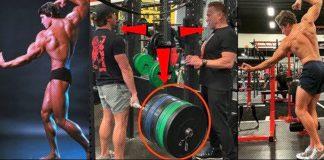 Arnold Schwarzenegger training son bodybuilding Generation Iron