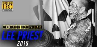 Lee Priest Documentary Announcement Generation Iron