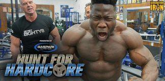 NDO Champ and Rich Gaspari at Diamond Gym Hunt For Hardcore Generation Iron