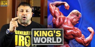 King's World Posing Sucks King Kamali Generation Iron