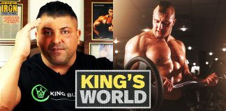 King's World Heavy Training vs Volume Training King Kamali Generation Iron