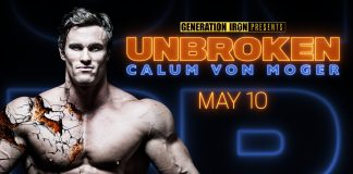 Calum Von Moger Unbroken Generation Iron