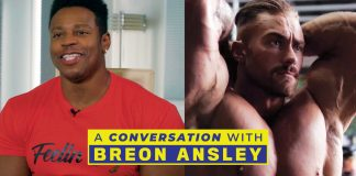 A Conversation With Breon Ansley First Look Chris Bumstead Generation Iron