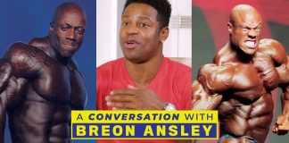 Breon Ansley Talks Shawn Rhoden vs Phil Heath Generation Iron