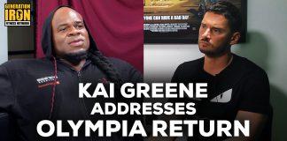 Kai Greene Olympia Return Generation Iron