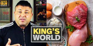King Kamali Offseason vs Contest Prep Bodybuilding Diet Generation Iron
