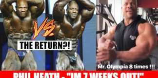 Phil Heath Says He's Seven Weeks Out From Olympia 2019 Generation Iron