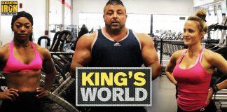 King's World Training Guide Back And Shoulders King Kamali Generation Iron