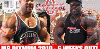 Olympia 2019 Updates Six Weeks Generation Iron