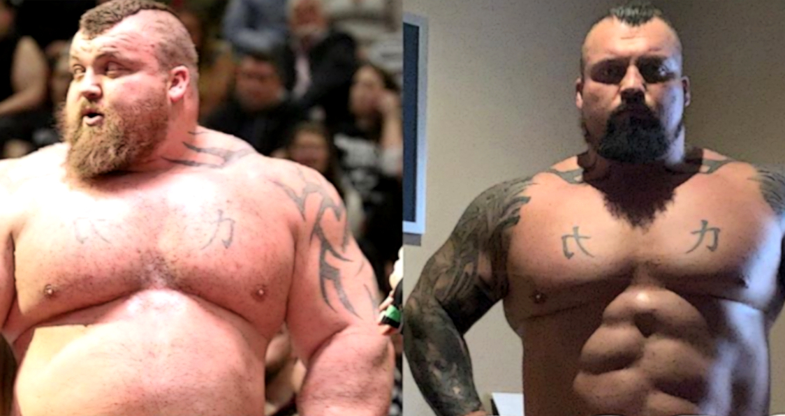 Eddie Hall Looks Jacked And Lean In This Throwback Pic