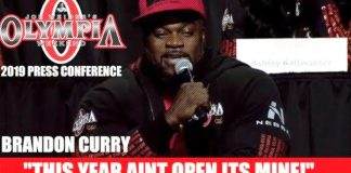 Brandon Curry Olympia 2019 Press Conference Generation Iron