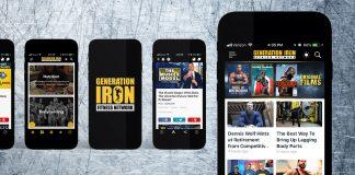 Generation Iron Fitness Network App
