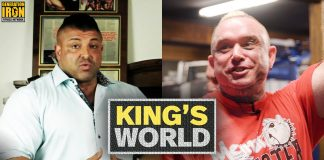 King's World Lee Priest Men's Physique Lightening Round Interview Generation Iron