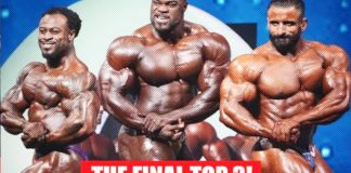Olympia 2019 Men's Open Finals Top 3 Callout Generation Iron