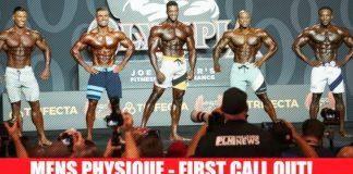 Olympia 2019 Men's Physique Prejudging Generation Iron
