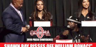 William Bonac Olympia 2019 Press Conference Generation Iron