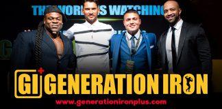 Generation Iron Plus Announcement