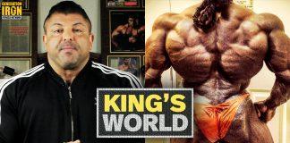 King's World Back Training Generation Iron