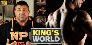 King's World Boulder Shoulder Training Generation Iron