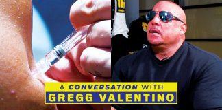 Gregg Valentino Drugs in bodybuilding