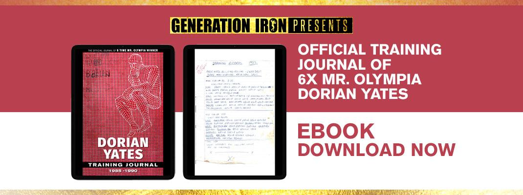 Dorian Yates Training Journal ebook