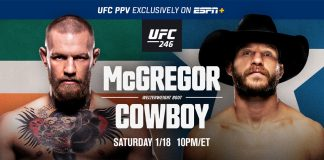 Where To Watch Ufc 246 Mcgregor Vs Cowboy Generation Iron