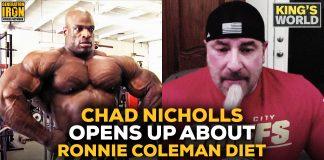 Chad Nicholls Talks Ronnie Coleman And Dieting Generation Iron