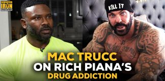 Mac Trucc Rich Piana drug addiction Generation Iron