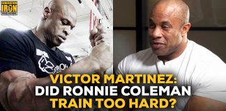 Victor Martinez talks Ronnie Coleman Generation Iron