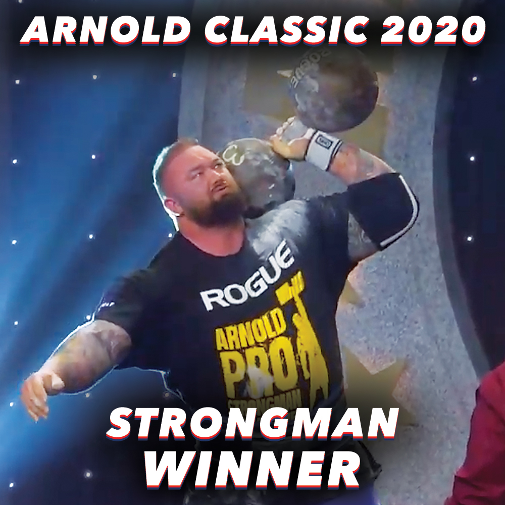 Arnold Strongman Classic 2020 Hafthor Bjornsson