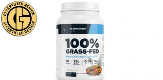 Transparent Labs 100% Grass-Fed Protein Isolate