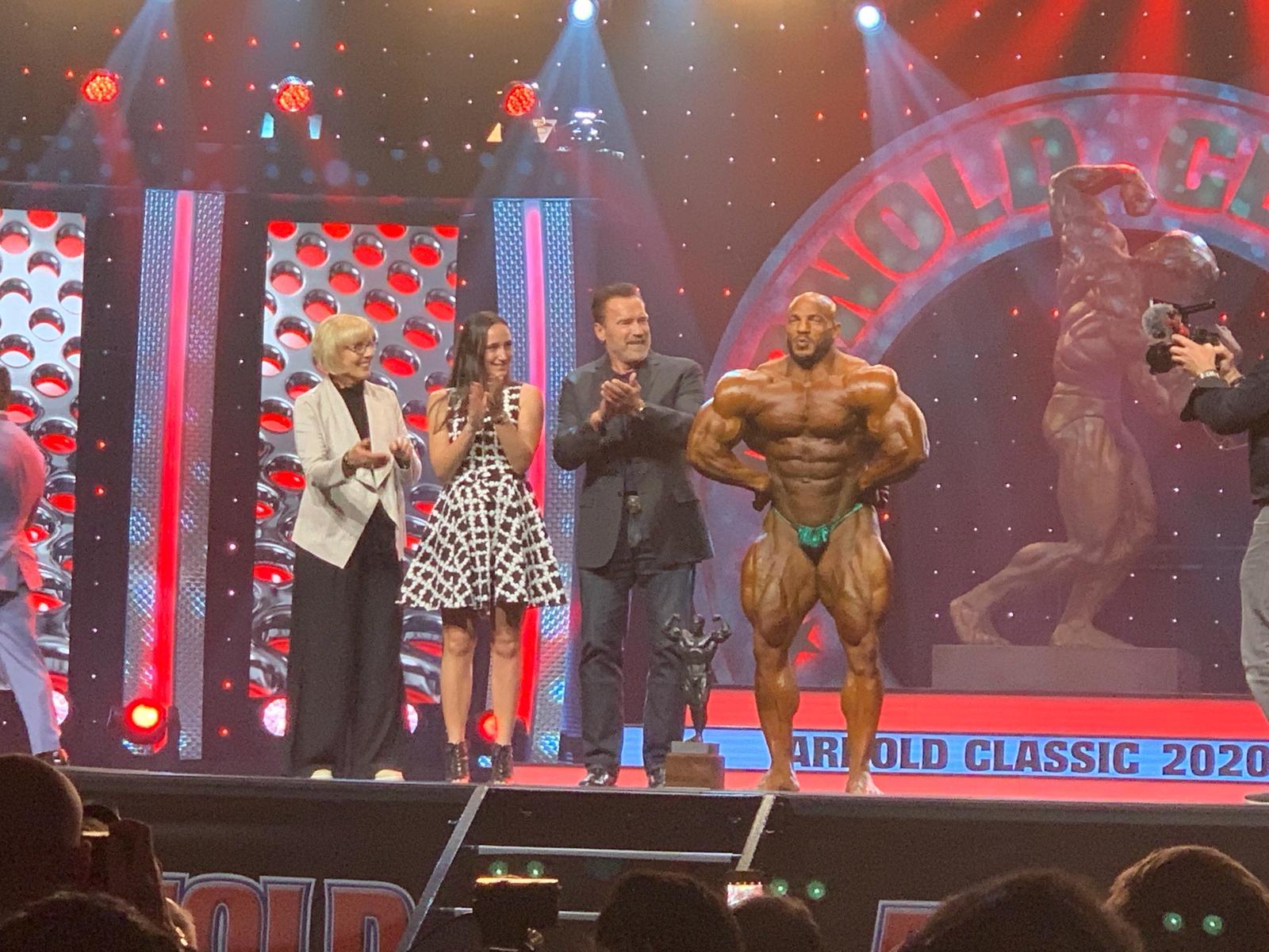 Arnold Classic 2020 Big Ramy Most Muscular Award