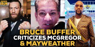 Bruce Buffer Conor McGregor Floyd Mayweather