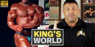 King's World Bodybuilding Contest Prep Generation Iron