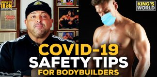 King Kamali COVID-19 bodybuilders