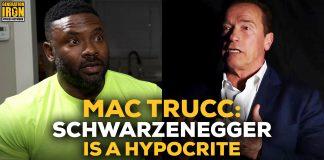 Mac Trucc Arnold Schwarzenegger bodybuilding drug testing