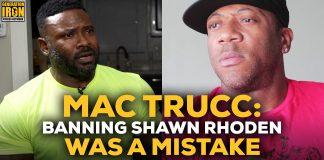 Mac Trucc Shawn Rhoden Banned