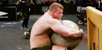 Tom Stoltman Arnold Strongman World Record