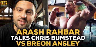 Arash Rahbar talks Chris Bumstead vs Breon Ansley