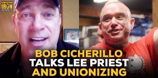 Bob Cicherillo talks Lee Priest and bodybuilders' union