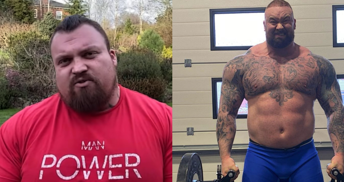 Eddie Hall Says He Wouldn T Count The Hafthor Bjornsson Deadlift