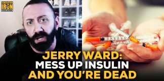 Jerry Ward insulin bodybuilding